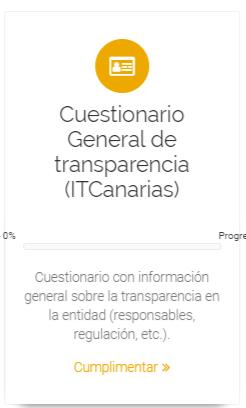 Cuestionario General de transparencia ITCanarias