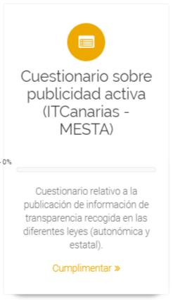Cuestionario de publicidad activa (ITCanarias - Mesta)